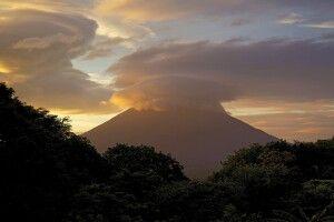 Vulkan auf der Insel Ometepe