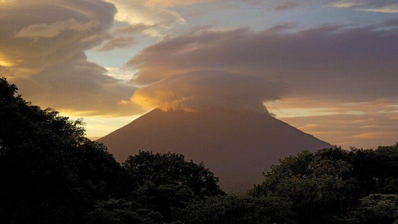 Vulkan auf der Insel Ometepe © Diamir