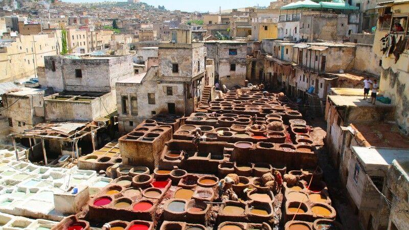 Mitten in der Altstadt von Fes © Diamir
