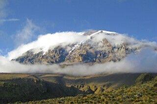 Kibo - Gipfelmassiv des Kilimanjaro