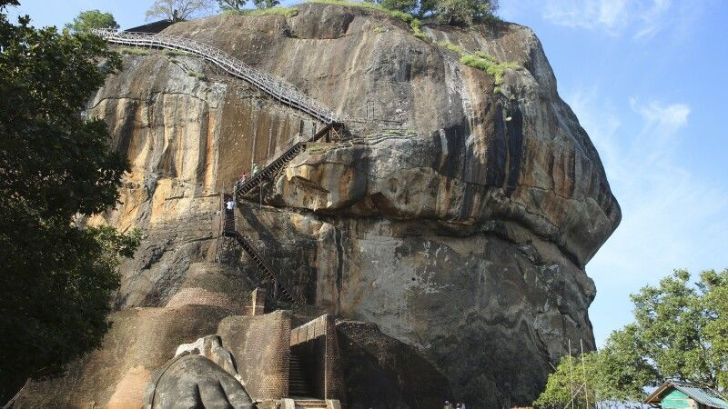 Löwenfelsen von Sigiriya © Diamir