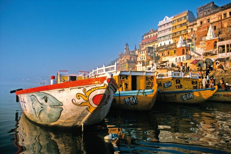Gangesufer in Varanasi