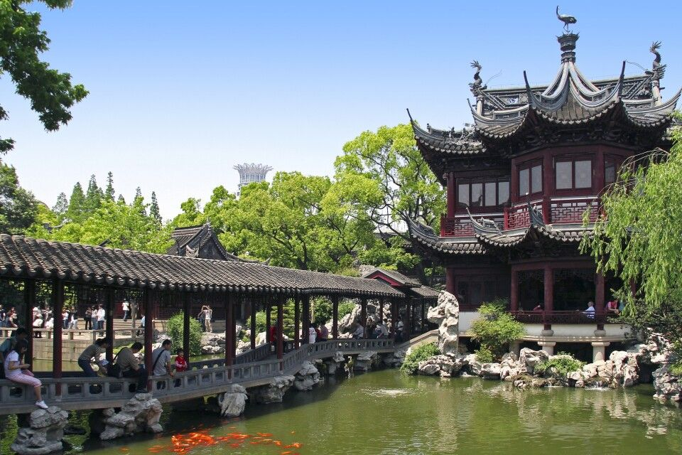 Yu-Garten in Shanghai