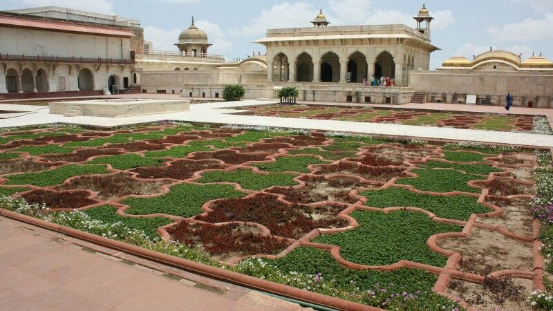 Rotes Fort in Agra © Diamir