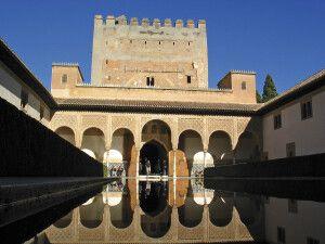 Im Inneren der Alhambra