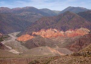 Beeindruckende Felsenlandschaft bei Tilcara