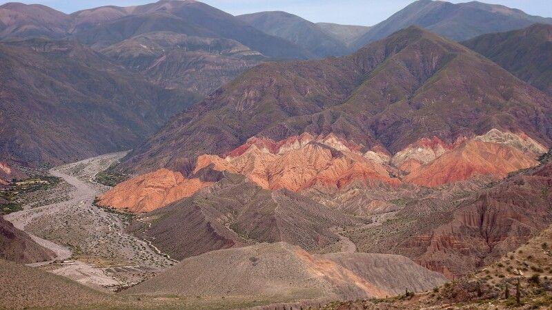 Beeindruckende Felsenlandschaft bei Tilcara © Diamir