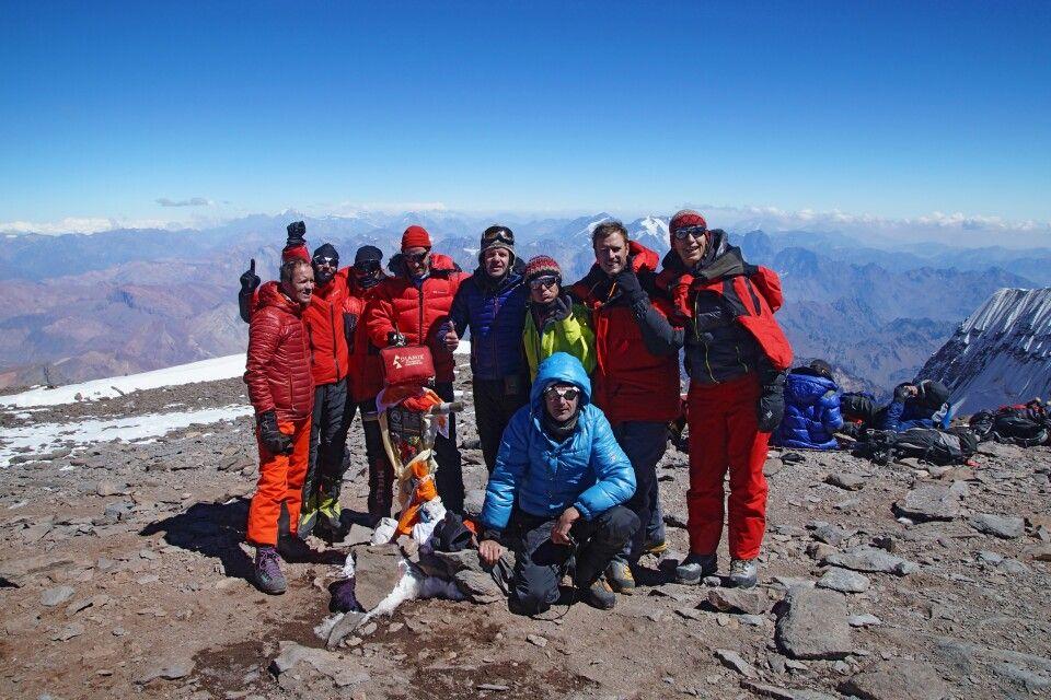 Aconcagua Gipfel