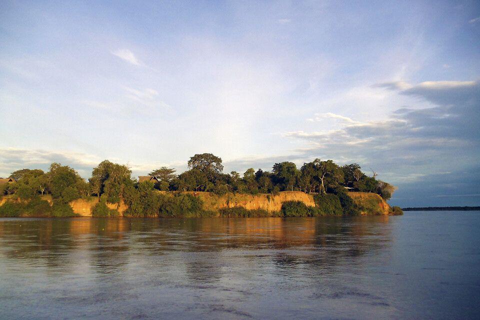 Rufiji River im Selous Reservat