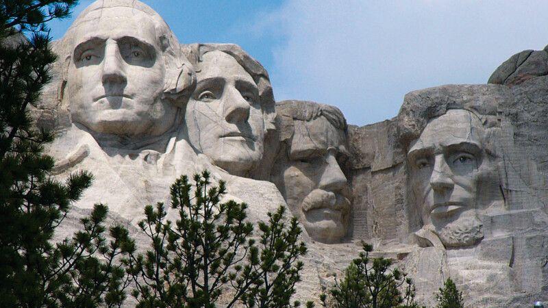 Die berühmten Präsidenten-Portraits am Mt. Rushmore © Diamir