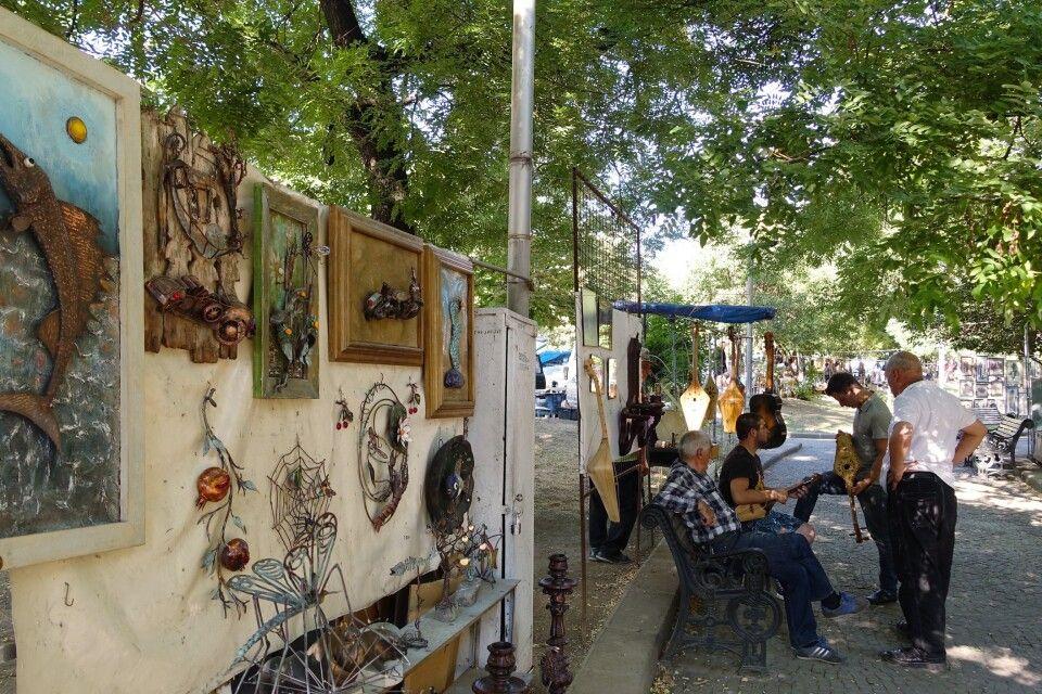 Kunstmarkt in Tiflis