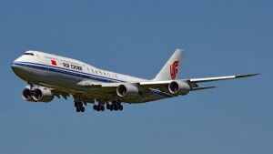 Flug mit Air China
