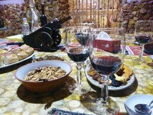 Weinverkostung in Jeghegnadzor