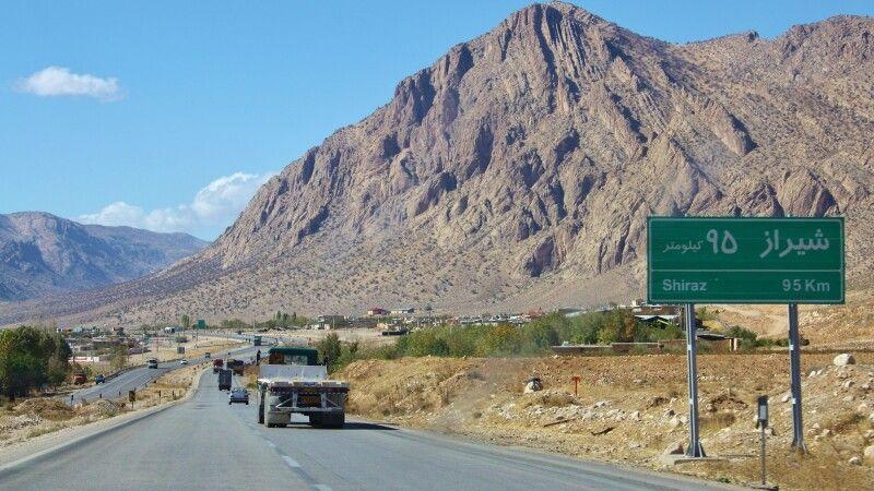 Auf der Fahrt nach Shiraz © Diamir