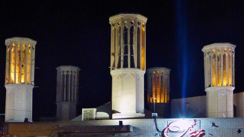 Windtürme in Yazd © Diamir