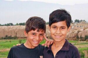 Kinder in Kashan