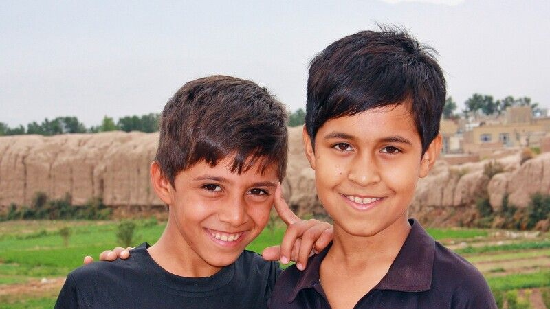 Kinder in Kashan © Diamir