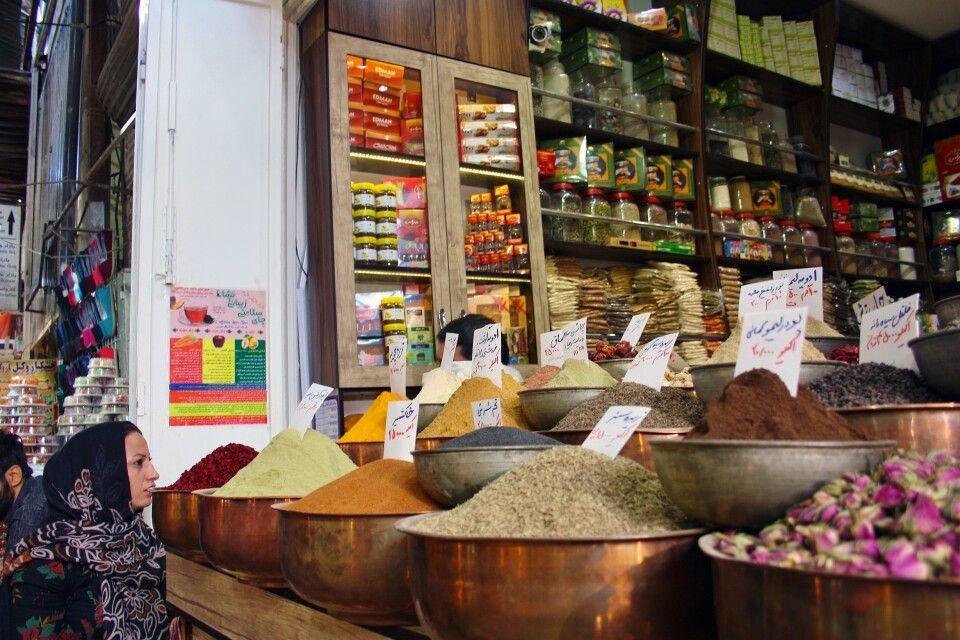 Bazar in Shiraz