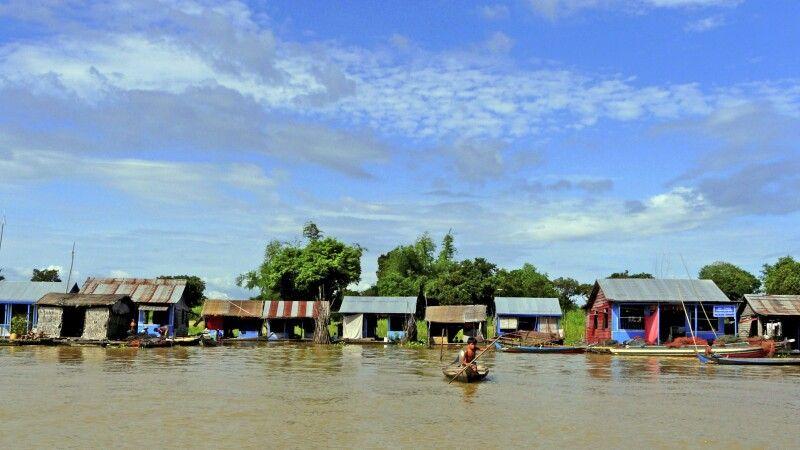 Auf dem Tonle-Sap-See © Diamir
