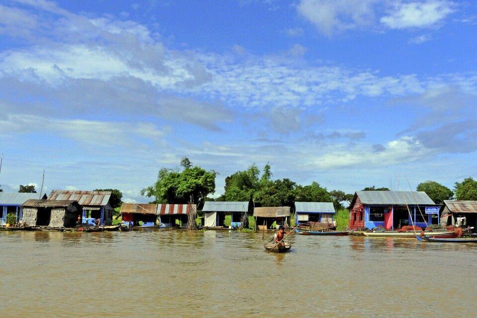 Auf dem Tonle-Sap-See