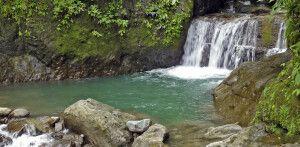 Idyllischer Wasserfall