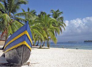 San Blas Inseln Boot