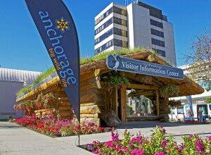 Das Besucherzentrum in Anchorage