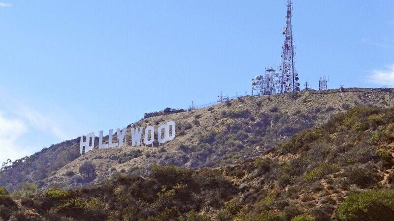 Das berühmte Wahrzeichen in den Hollywood Hills © Diamir