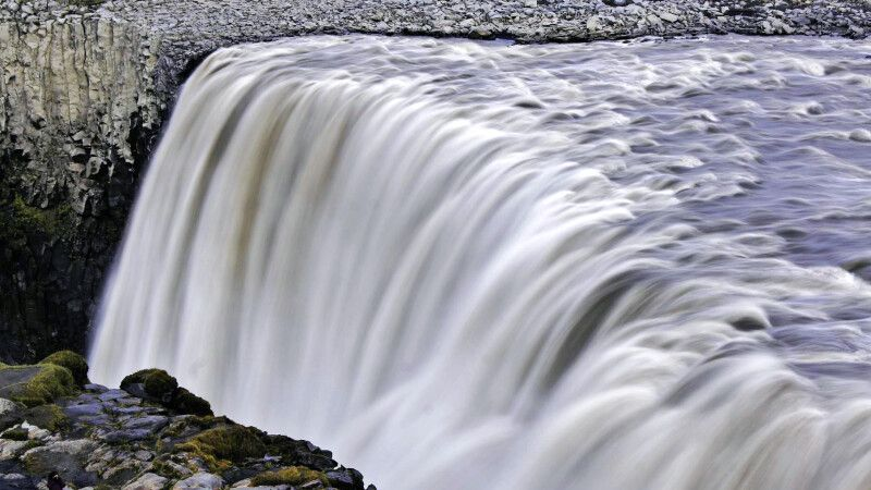 Dettifoss – der größte Wasserfall des Landes © Diamir