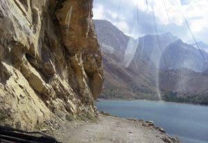 Vorbei am Marguzor See (einer der sieben Seen) und Blick in das gleichnamige Tal