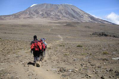 Weg zur Kibo Hut, Kikelewa Route