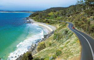 Tasmanien Küste Ostküste