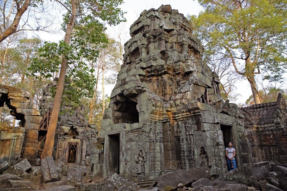 Tempeltour in Angkor