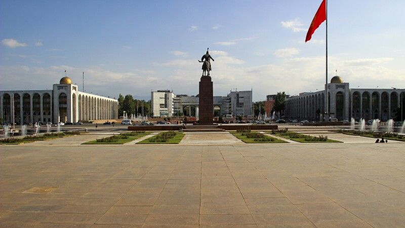 Alatoo Platz in Bishkek © Diamir