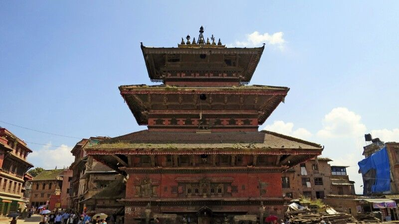 Bhairavnath-Tempel in Bhaktapur © Diamir