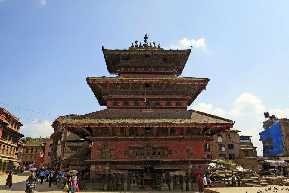 Bhairavnath-Tempel in Bhaktapur