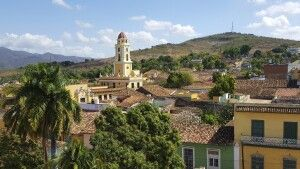 Stadtkulisse Trinidad vom Turm des Mueso Historico Municipal