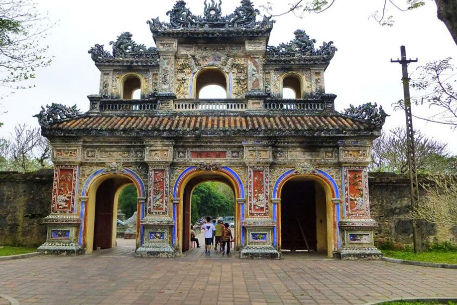 Eingang zur Zitadelle in Hue