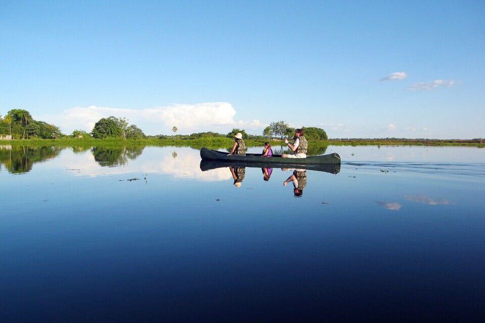 Bootsausflug im Pantanal