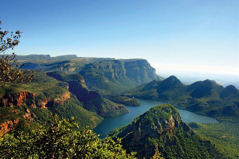 Blick in den Blyde River Canyon