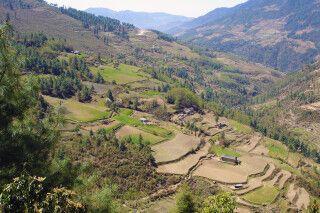 Blick zurück nach Phaplu