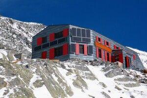 Die komplett renovierte Rysy-Hütte