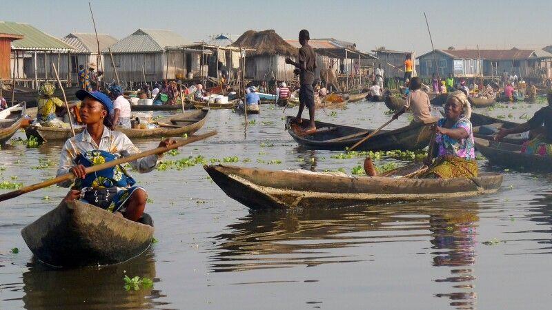 Bootsfahrt nach Ganvie, Fluss © Diamir