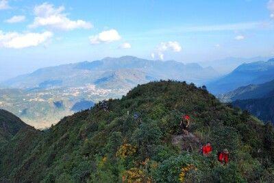 Wandern auf dem Fansipan in Nordvietnam
