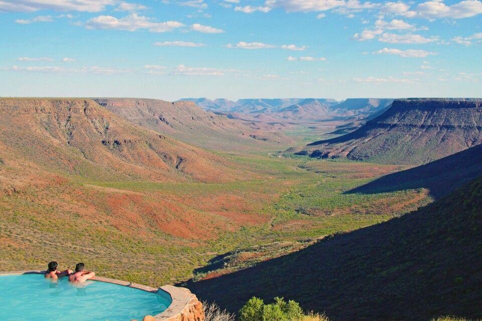 Planschen mit Aussicht - Grootberg Lodge