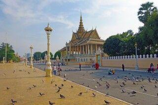 Eingang des Königspalastes in Phnom Penh