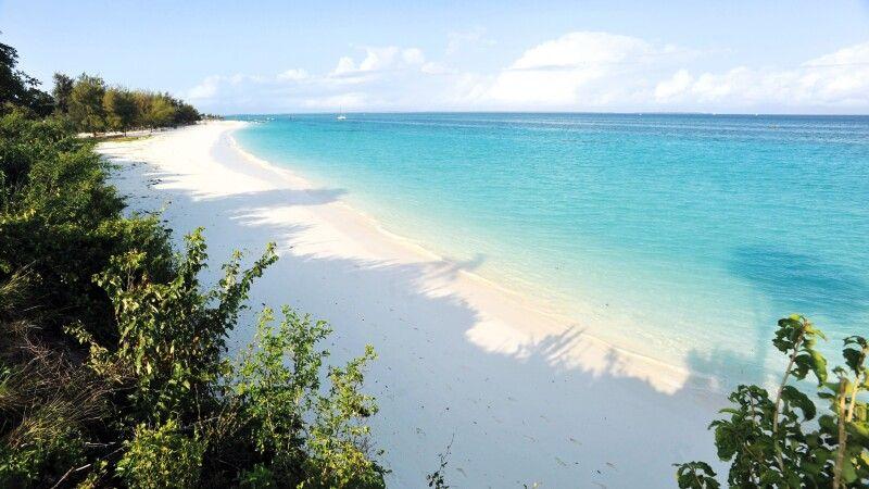 Endlose weiße Strände am Indischen Ozean © Diamir
