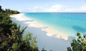 Endlose weiße Strände auf Sansibar…