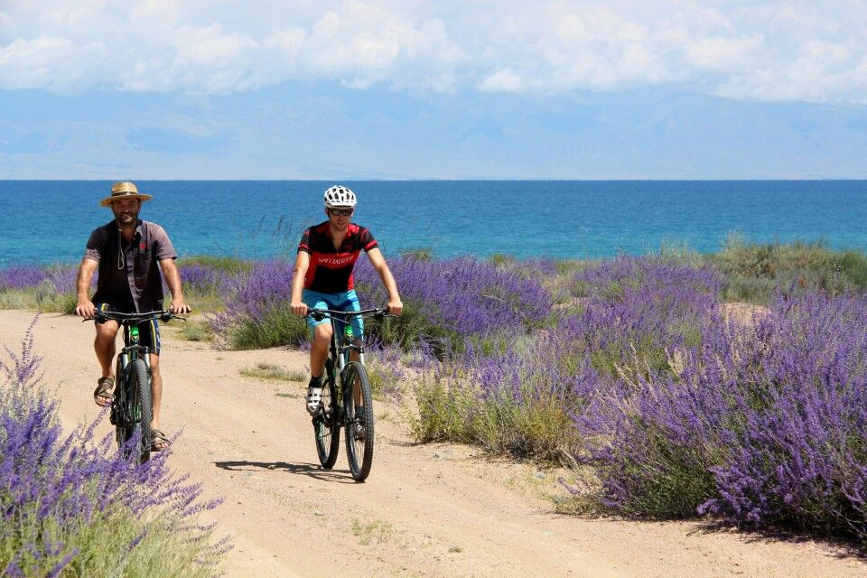 Mountainbiketour am Issyk Kul