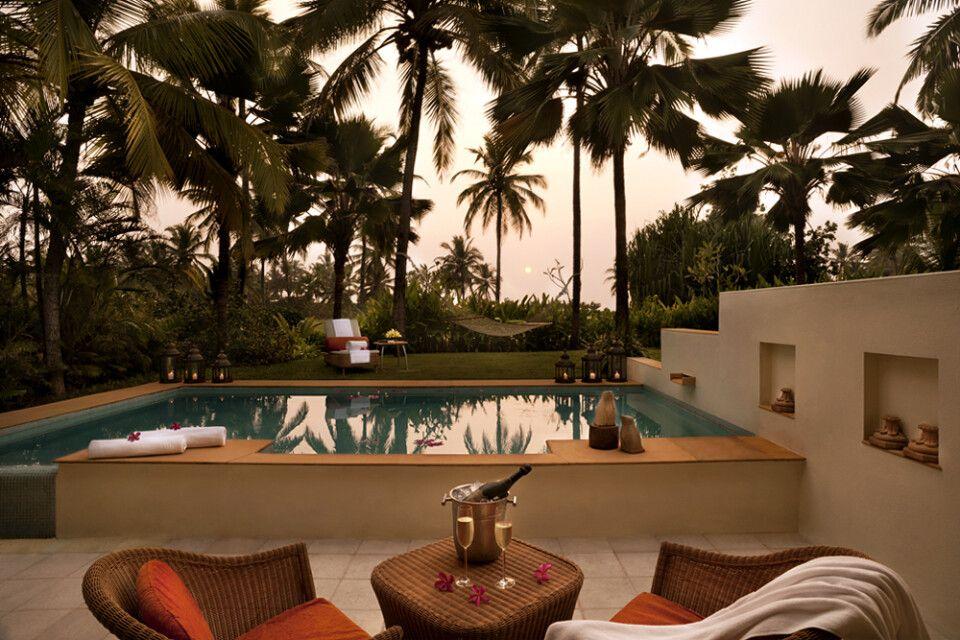 Taj Exotica_Goa_Sunset Villa Room with Personal Plunge Pool